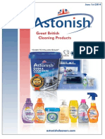 Astonish Cleaning Products (Vegan)