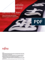 Fujitsu History Australia New Zealand