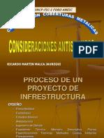 Construcción Coberturas metálicas Presentación