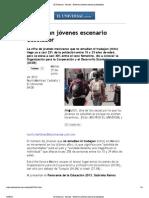 MRA El Universal Enfrentan jóvenes escenario desolador Profesionistas México 06-25-13