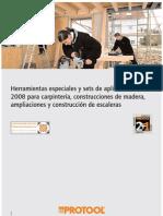 protool folletos carpinteros 2008