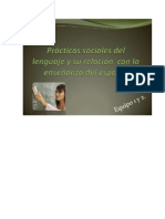 PRáCTICAS SOCIALES DEL LENGUAJE 123