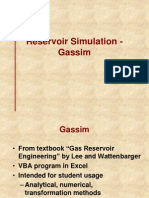 10. Reservoir Simulation-Gassim