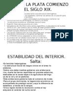 El Rio de La Plata Comienzo Del Siglo... Trabajo Practico Terminado..