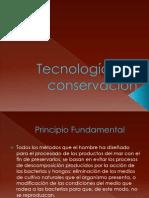 Tecnologías de conservación