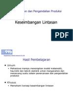 Line Balancing - Teknik Management Industri UPI