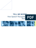 Tell Me More - SpeechRecognitionGuide1