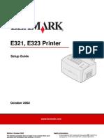 Manual Lexmark 323 español