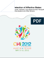 Multimodal Detection of Affective States  | CHI 2012