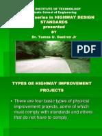 Highway Design Standards