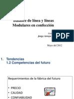 Balance de línea y líneas modulares en confección 1