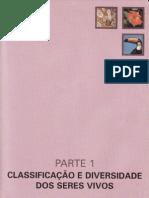 CAP.1-A CLASSIFICAÇÃO BIOLÓGICA