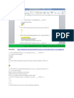 Download 15 MCQ (TCO 1) Microsoft Visual C++ is an Example Of