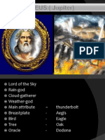 Olypmian Gods and Godesses
