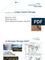 B. Hill - Secure Geologic Carbon Storage