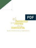 El Derecho y El Reves de La Memoria 1
