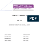 Emergency Response Manual (Riot)