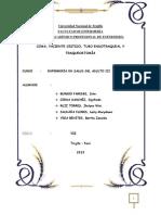 Coma, Pct Critico, Tubo Endotraqueal, Traqueostomia