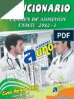 UNSCH - solucionario admision 2012