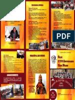 Programa Aniversario Ugel Huari