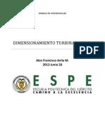 Tipos de turbina por su caudal y altura de pérdidas ALEX