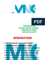 Presentation1 on MNC