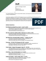 Andrea Nierhoff CV 0613