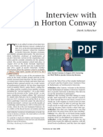 Interview with John Horton Conway