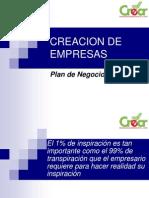 1 Plan de Negocios Concepto y Estructura Basica