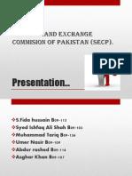 presentation on SECP