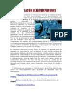 DEGRADACIÓN DE HIDROCARBUROS