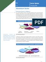 Aluminium Sector Update - Rel Money - 13 01 09