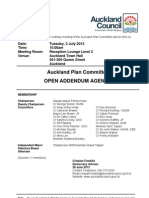 Auckland Plan Committee UP - July 2