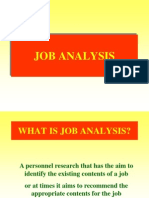 JOB ANALYSIS hrm.ppt