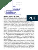 Evolucion Historica Del Derecho Laboral Venezuela