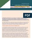 Developing Emotional Intelligence Part I - Chandramowly May 19, 2004