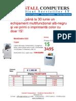 Promo Xerox Finantare