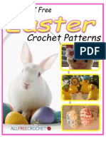 Hop Into 7 Free Easter Crochet Patterns