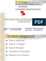 """""""NEW MARKETING STRATEGIES ADOPTED BY CORPORATES"""""""