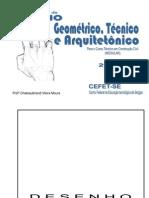 Apostila de Desenho - Curso Construção Civil - MODULAR - 2007.2 - Aluno - 139 páginas