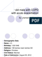 64 Year Old Male With COPD