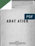 Adat Aceh