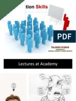 Rajnish Kumar on Presentation Skills 2013