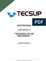 Lab 4 Segunda Ley de Kirchhoff