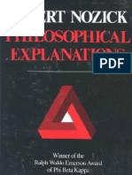 Nozick - Philosophical Explanations