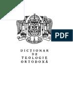 Dictionar de Teologie Ortodoxa