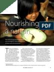 Rice Today Vol. 12, No. 3 Nourishing a nation