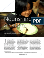 Rice Today Vol. 12, No. 3 Nourishing a nation