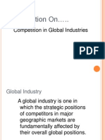 Competition in Global Industry