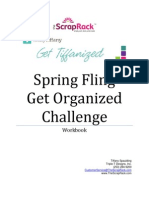 2013 Get Organized Challenge Workbook